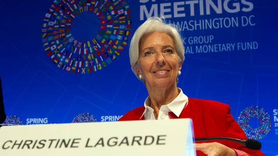 IMF's Lagarde says U.S. economy 'doing absolutely fine'