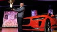 Electric Jaguar I-Pace wins big at NY Auto Show