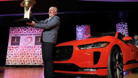 Electric Jaguar I-Pace wins big at NY Auto Show