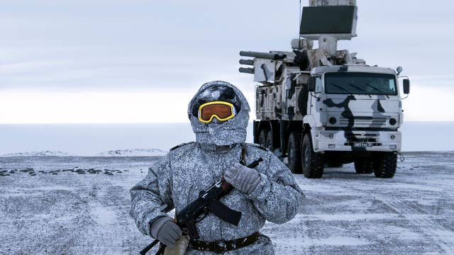 Russia, China lay eyes on the Arctic