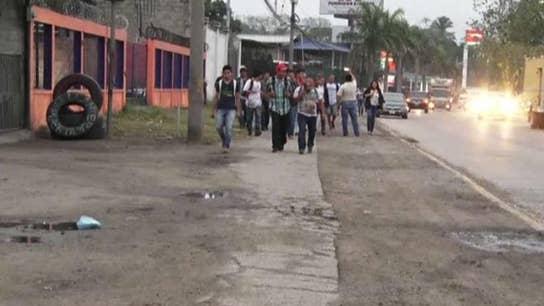 New caravan from Honduras headed to U.S. southern border