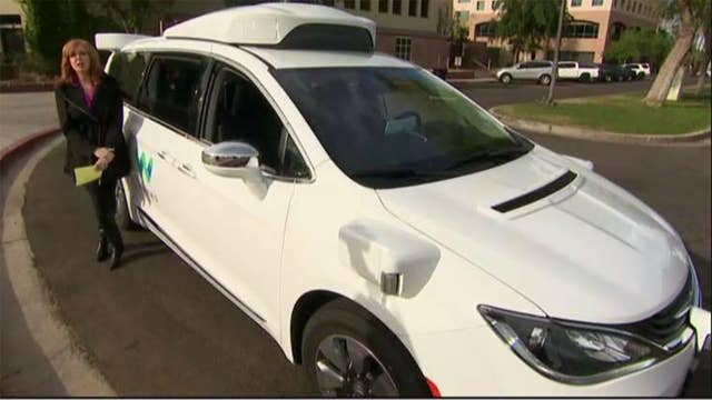 Waymo is trying to build the world's most experienced driver: Liz Claman