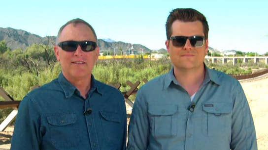 GOP congressmen Andy Biggs and Matt Gaetz visit the southern border