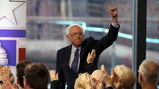 Bernie Sanders defends his plan to tax wealthy Americans