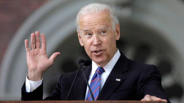 Trump takes aim at Joe Biden amid misconduct allegations