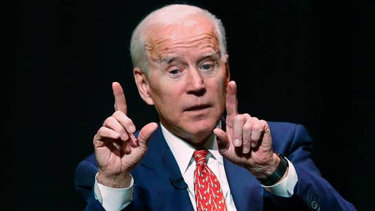 The risks to Biden of being the Democratic frontrunner