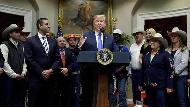 Trump: 5G networks will create astonishing new opportunities