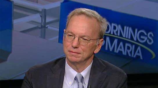 Former Google CEO Eric Schmidt on the impact of AI on jobs