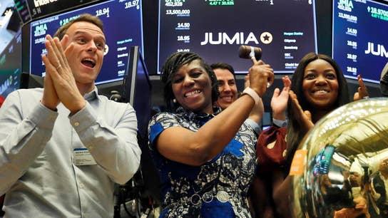 Jumia makes history at the New York Stock Exchange