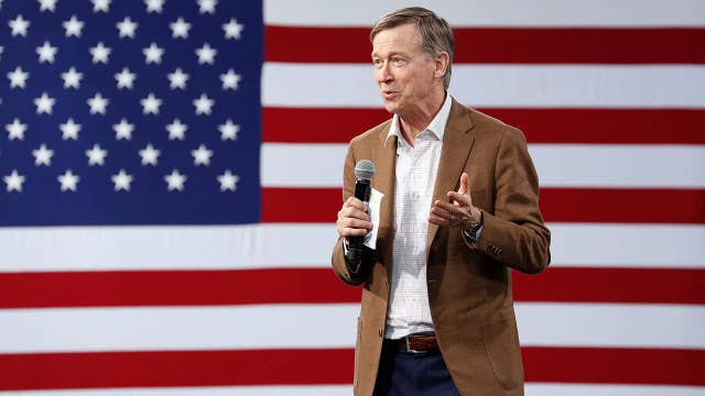 John Hickenlooper says he wants to 'save capitalism'