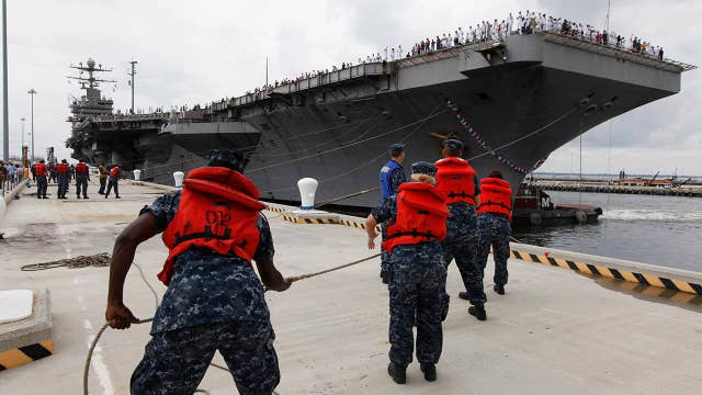 Trump administration sends aircraft carrier to Middle East as a warning to Iran