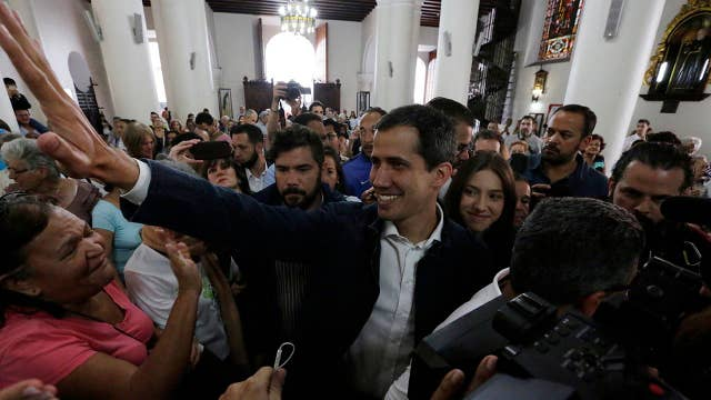 Venezuelan opposition leader Juan Guaidó: It's time to abandon dictator Nicolás Maduro
