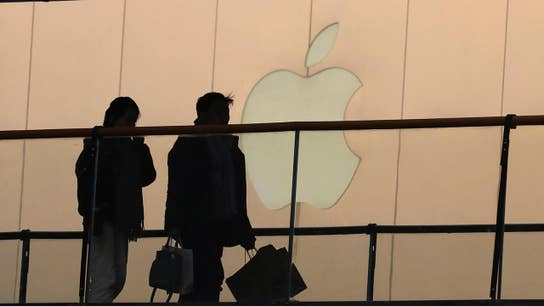 Apple takes center stage on Wall Street; end of an era at Google