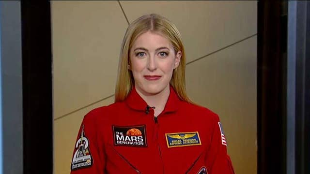 Aspiring to be the first astronaut on Mars