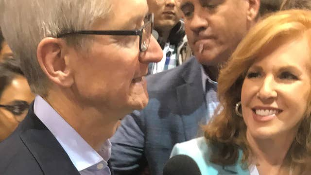 EXCLUSIVE: Apple CEO Tim Cook on the lessons he's learned from Warren Buffett