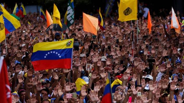 Rep. Ilhan Omar blaming US policies for helping 'lead the devastation in Venezuela'
