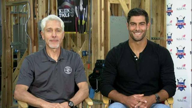 San Francisco 49ers quarterback Jimmy Garoppolo on trade careers