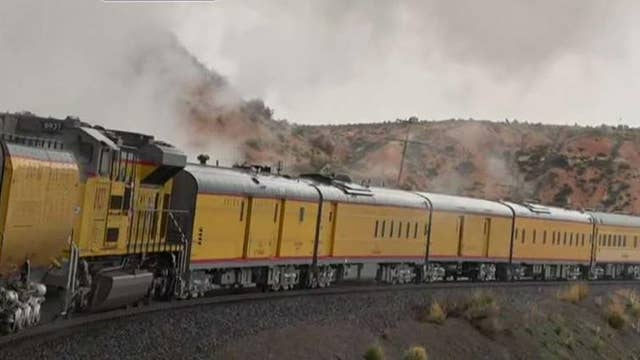 Commemorating the 150th anniversary of the transcontinental railroad