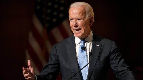 Biden leads crowded Democratic 2020 field