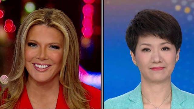 FOX Business' Trish Regan talks trade with CGTN's Liu Xin