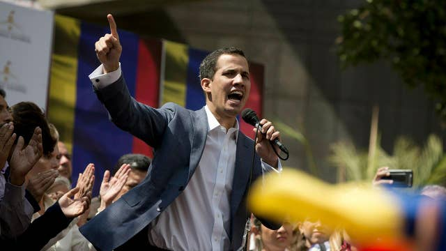 Trump: Venezuelan opposition leader Juan Guaidó is 'very brave'