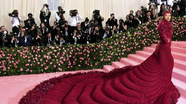 Met Gala: Outrageous fashion takes over NYC