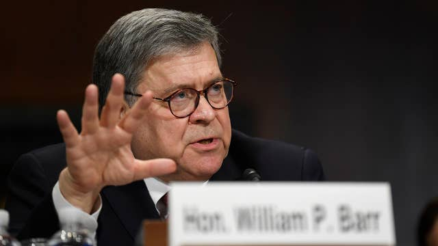 Trump: AG William Barr did a 'fantastic job' at the hearing today