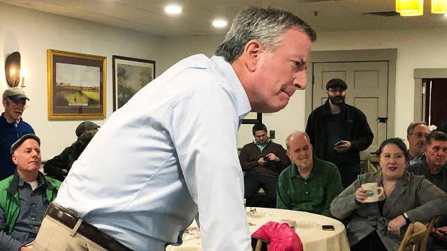 NYC Mayor Bill de Blasio considers 2020 presidential bid