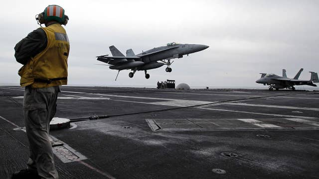 US sends aircraft carrier and bomber task force to Middle East