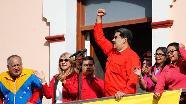 Russia protecting Maduro in Venezuela?