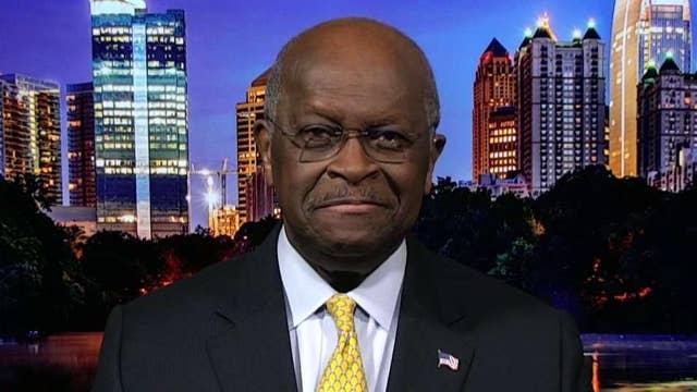 Democrats are desperate to discredit Trump: Herman Cain