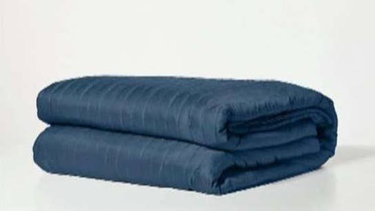 A weighted blanket better for sleep?