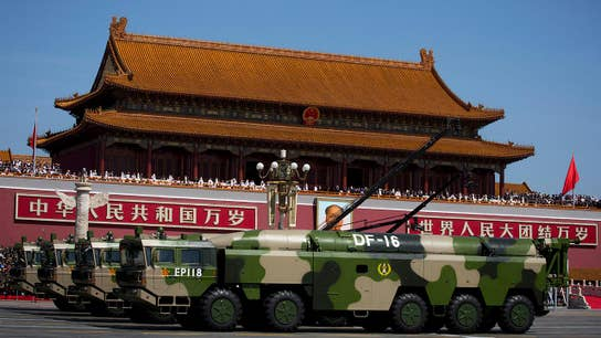 The potential military threats from Iran and China