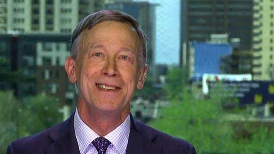 John Hickenlooper says he wants to adjust capitalism