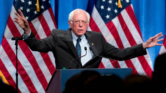 Bernie Sanders defends socialism during speech in DC