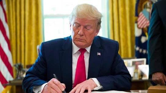 President Trump signs Executive Order imposing sanctions on Iran