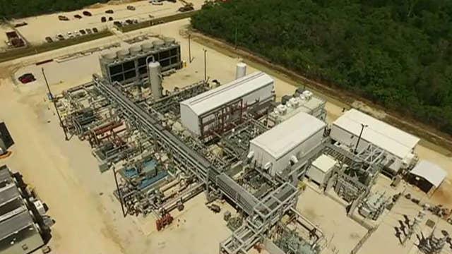US energy startup builds power plant that produces no carbon emissions