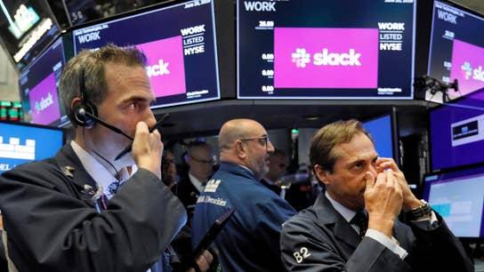 Messaging service Slack goes public in direct listing