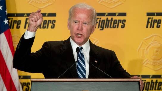 Trump predicts Democratic frontrunners: Biden, Warren and Sanders