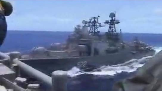 US accuses Russian ship of 'unsafe' maneuvers