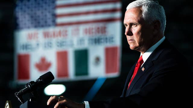 Mike Pence: Trump has 'no timetable' with Mexico