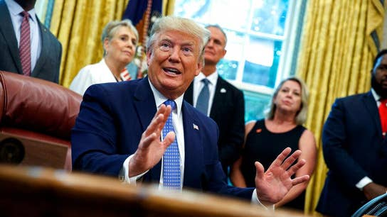 President Donald Trump on China tariffs