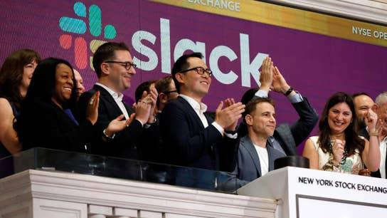 Slack debuts on NYSE