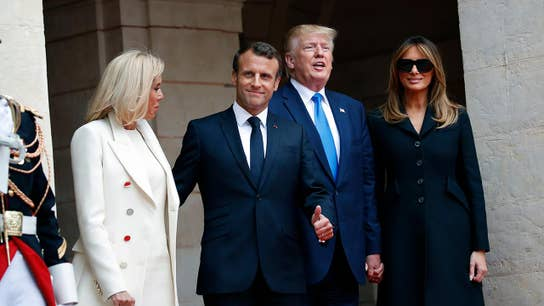 Trump, Macron agree that Iran shouldn't develop nuclear weapons