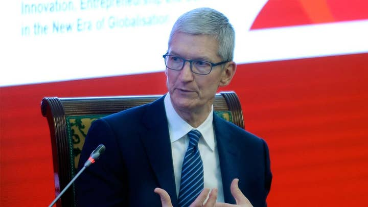 Apple's Tim Cook slams big tech over privacy issues