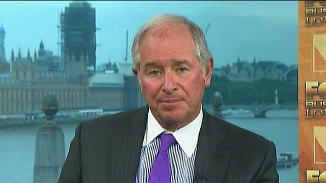Blackstone CEO: Capitalism has created an enormous increase in standard of living