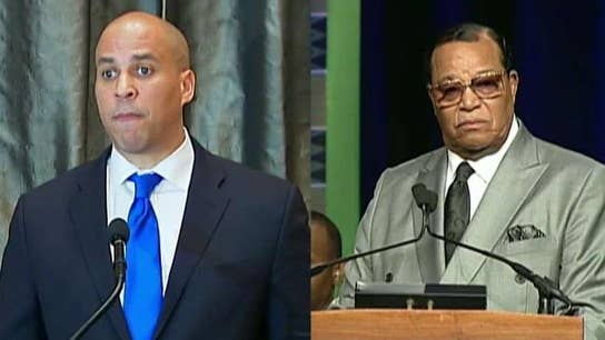 Cory Booker says he would meet with Louis Farrakhan