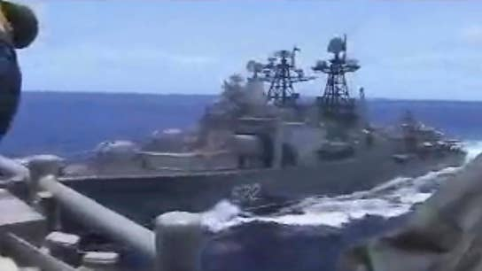 US to lodge formal complaint after Russian warship nearly collides with an American warship