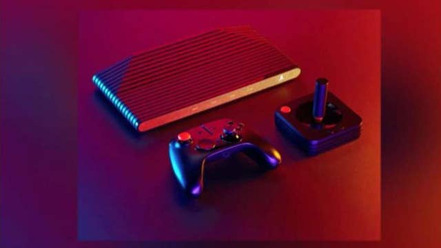 Atari introduces throwback console with classic games, joystick upgrade