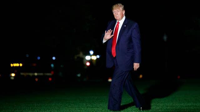 Trump tweets on China's slow growth